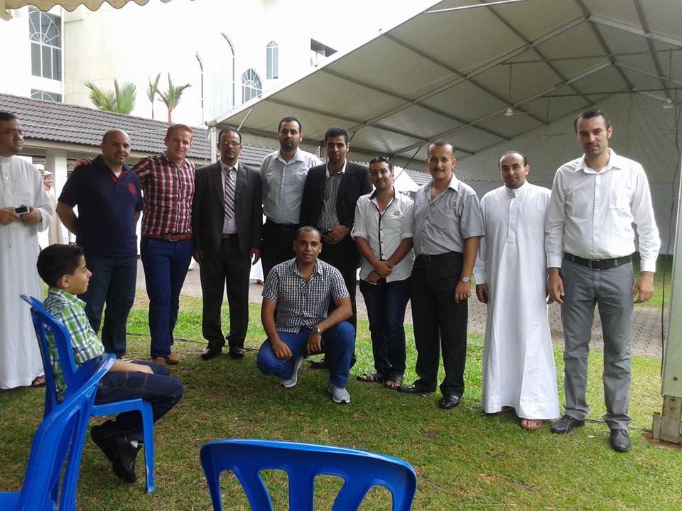 تهنئة من الجالية الأردنية في الجامعة التكنولوجية الماليزية بمناسبة عيد الأضحى المبارك