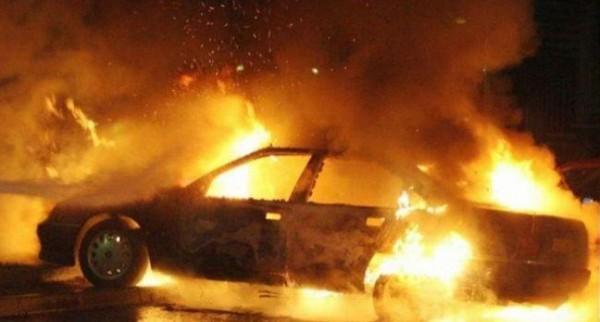 اندلاع حريق في مشطب سيارات بمنطقة واد دعوق جنوب جنين