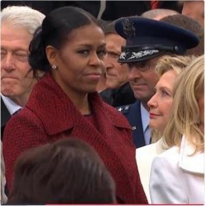 هكذا نظرت ميشال أوباما إلى عائلة ترمب ؟