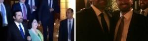 """الحريري في زفاف شقيقه بالأردن ..  """"ويرقص على يا سعد لو تشوفه"""" .. فيديو"""
