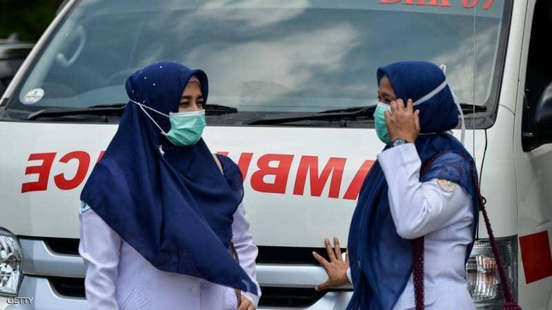 إندونيسيا تسجل 82 وفاة بكورونا