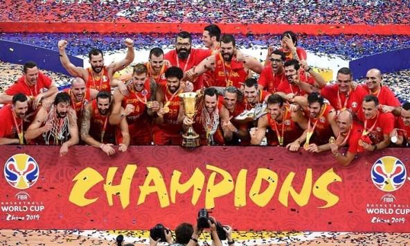 إسبانيا تفوز بلقب بطلة العالم بكرة السلة