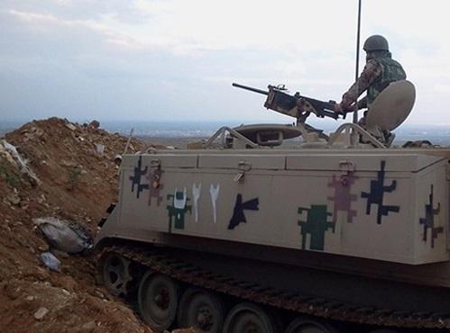 إصابة احد أفراد حرس الحدود برصاص من الجانب السوري
