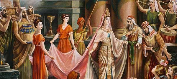 """""""الملكة بلقيس"""" و"""" النبي سليمان"""""""