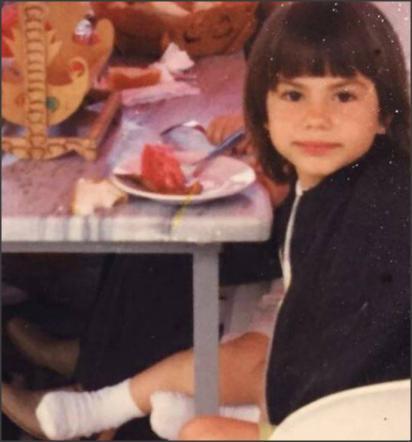 صورة نادرة لممثلة معروفة