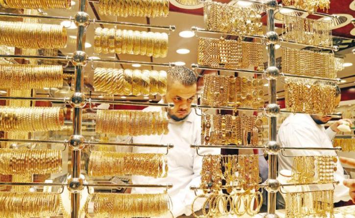 الذهب يرتفع 30 قرشاً الأسبوع الماضي