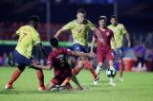 """كولوبيا تعبر إلى ربع نهائي """"الكوبا"""" بعد تغلبها على قطر بهدف نظيف"""