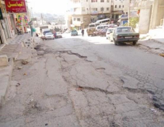 عجلون: طرق داخلية مهترئة  .. وقلة فتح شوارع لخدمة المواطنين
