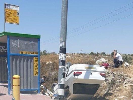 اصابة اسرائيلين بعملية دهس في عتصيون