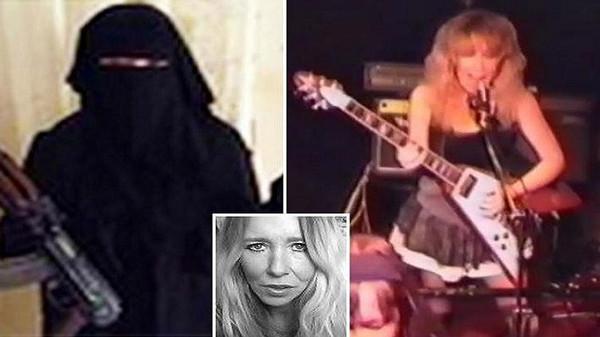 بالصور  ..  قصة أخطر داعشية امريكية : كانت مغنية راب و اصبحت قاطعة رؤوس فقتلت بصاروخ موجه من امريكا