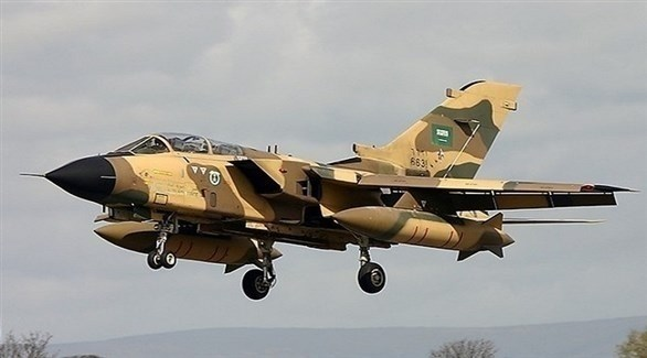 سقوط طائرة عسكرية سعودية واستشهاد طاقمها
