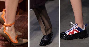 أحذية خطفت الأنظار فى عرض أزياء Burberry بفعاليات أسبوع الموضة بلندن