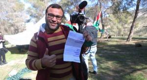 """شرطة الاحتلال الاسرائيلي تصدر مخالفة لفلسطيني تحت بند """"السير على الاقدام"""""""