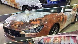 أضرار الصدأ على السيارة وكيفية معالجته