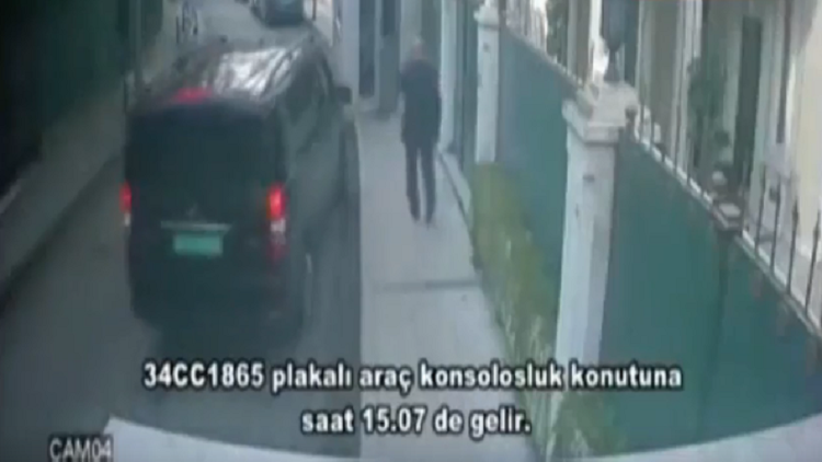 فيديوهات نشرتها وسائل إعلام تركية تكشف عن تحركات مشبوهة يوم اختفاء خاشقجي