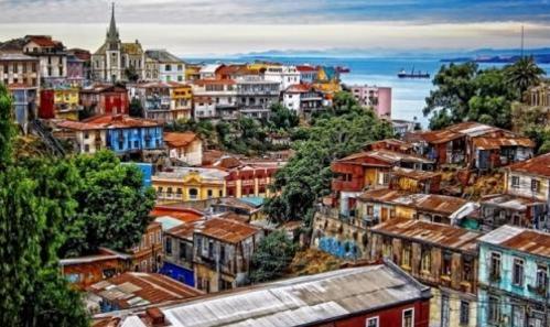 بالصور- أروع المدن الملونة في العالم
