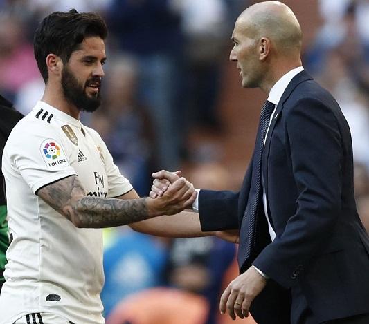 ريال مدريد يشدد الحراسة على بيتي زيدان وإيسكو لهذه الأسباب