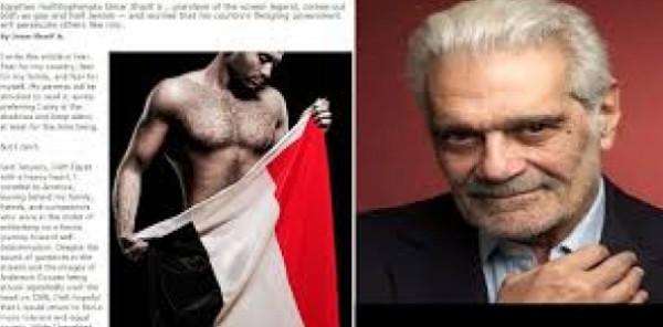 """حفيد  الفنان """" عمر الشريف """"  و الفناة  """" فاتن حمامة """" يتحدث العبرية بطلاقة و ينصب زعيما للمثلين العرب !"""
