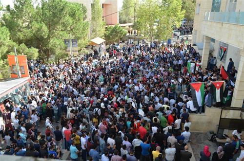 القدس والأقصى حاضران في جامعة عمان الأهلية