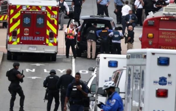 قتلى بإطلاق نار في مبنى للبحرية بواشنطن (فيديو وصور)