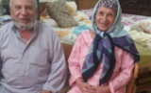 بالفيديو.. قصة حب في دار مسنين توجت بالزواج