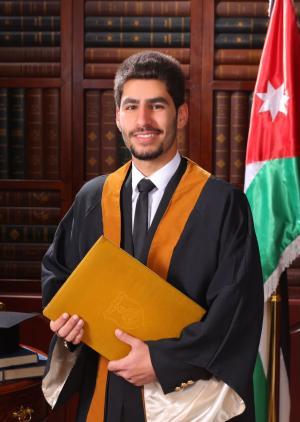 مبارك التخرج خالد اديب الكفاوين