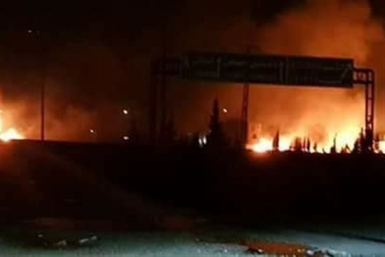 قصف إسرائيلي على مواقع للجيش السوري قرب دمشق
