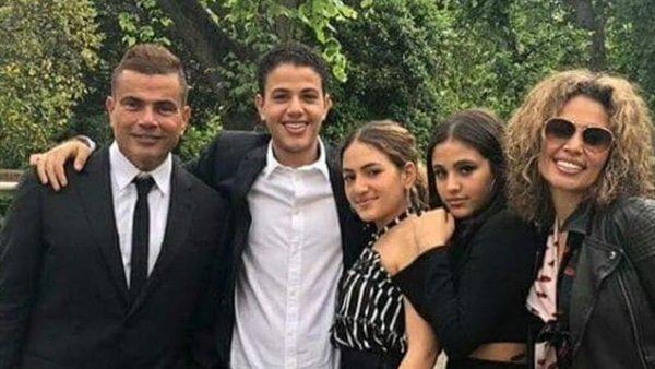 سر تجاهل عمرو دياب تهنئة أولاده بعيد ميلادهم
