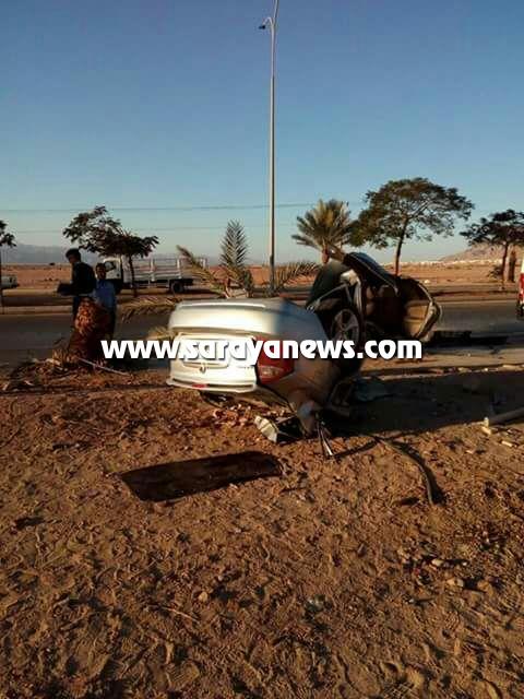 بالصور ..  عمّان: وفاة شخص بحادث تدهور مروع شطر المركبة الى قسمين