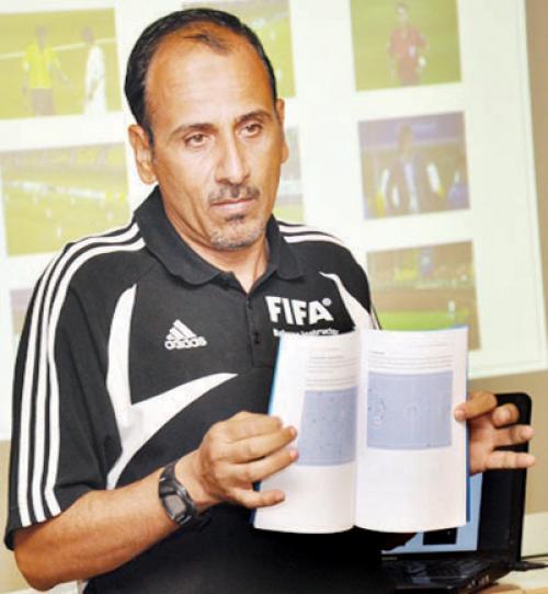 السعودي الطريفي مديرا لدائرة الحكام في اتحاد كرة القدم
