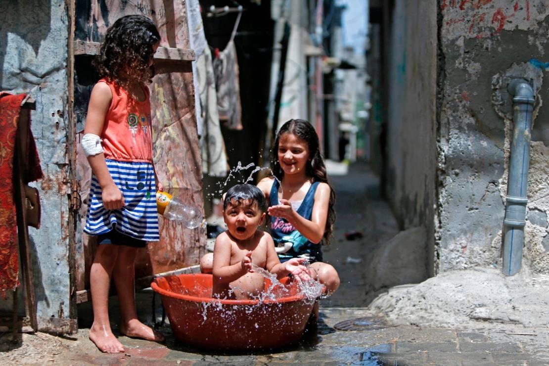 انحسار موجة الحر في فلسطين