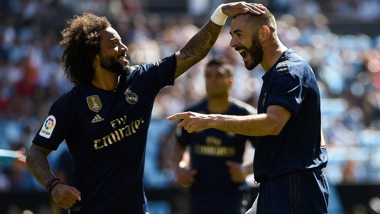 بالفيديو  ..  بعشرة لاعبين ..  ريال مدريد يفتتح موسمه بثلاثية ضد سيلتا فيغو