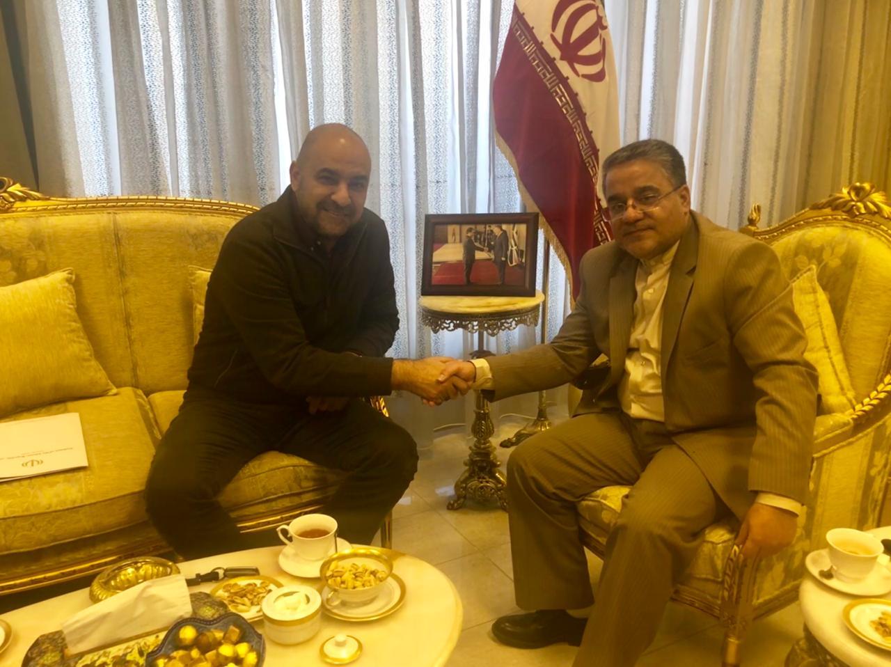 السفير الأيراني يعد بالإفراج عن المواطنين الأردنيين المحتجزين في ايران