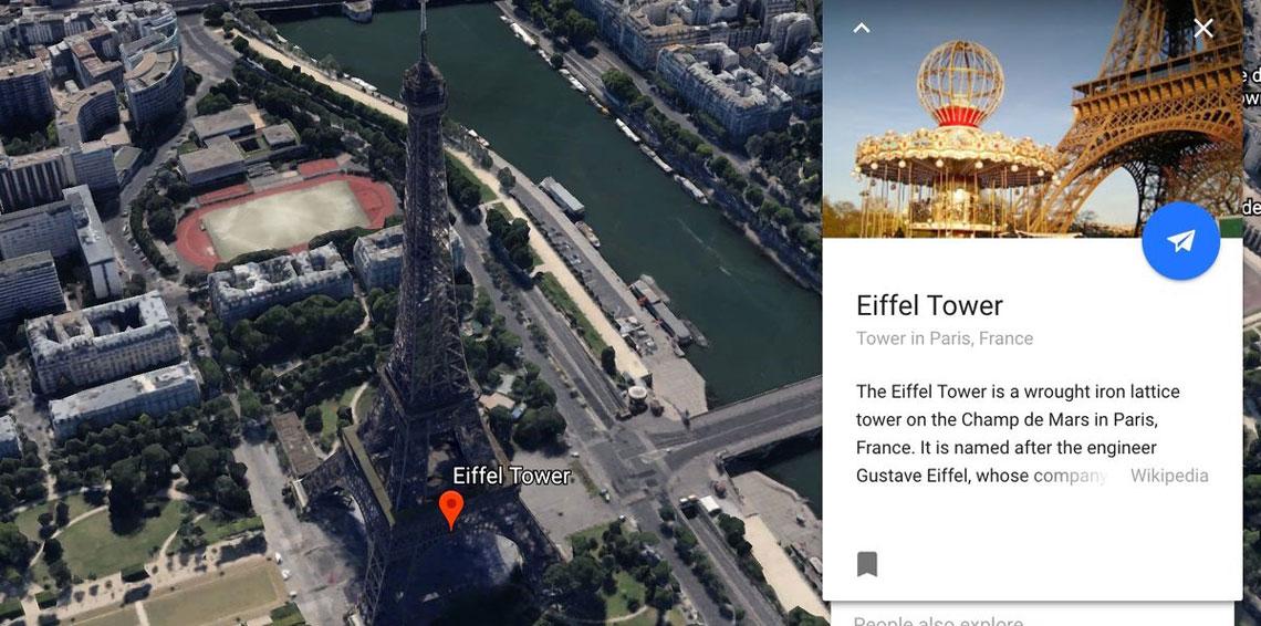 غوغل ستتيح لك وضع ذكرياتك على خرائط Google Earth