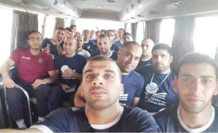 منتخب الطائرة للرجال يلتقي نظيره الفلسطيني مجددا اليوم