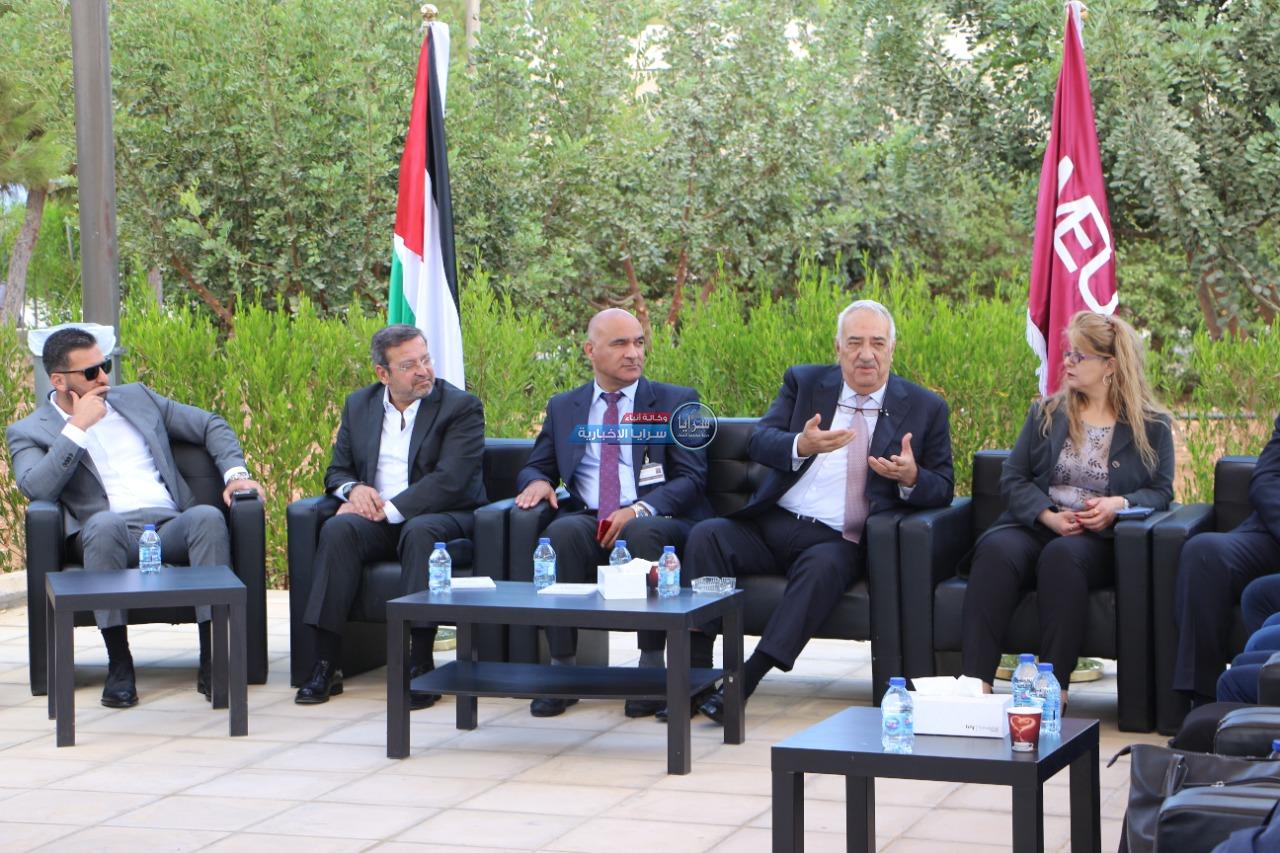 جامعة الشرق الأوسط MEU تنضم جلسةٍ حوارية عن أهمية الأحزاب في الدولة