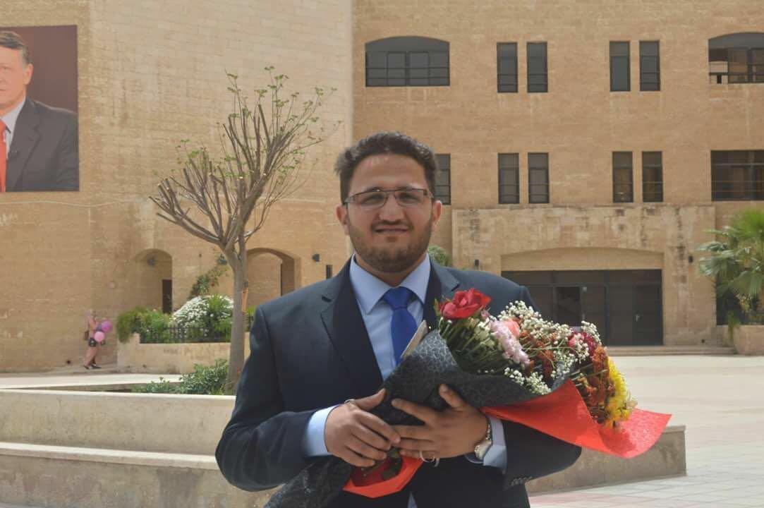 المهندس فريد فيصل تايه مبارك تخرجك