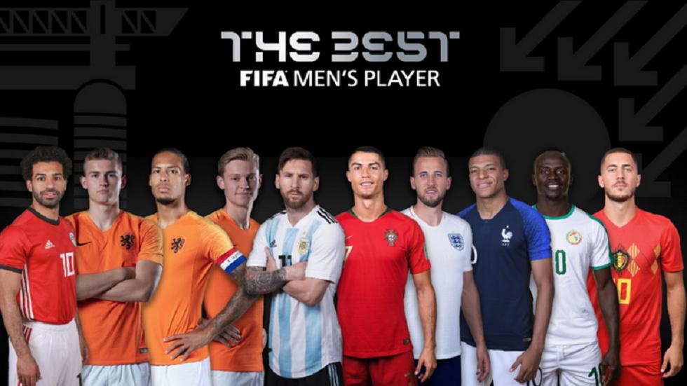تعرف على طريقة التصويت على جائزة أفضل لاعب في العالم 2019
