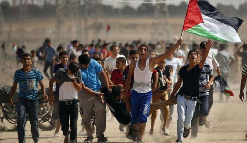 استشهاد فلسطينية و إصابة 10 آخرين برصاص الاحتلال شرقي قطاع غزة