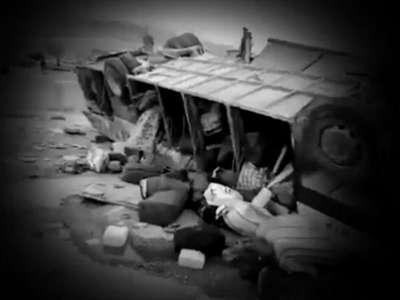بالفيديو  ..  لحظات الرُعب الأخيرة في حافلة المعتمرين التي راح ضحيتها 17 مواطناً من جنين