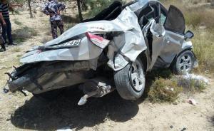 العقبة: وفاتان واصابتان اثر تدهور مركبة بمنطقة دبة حانوت