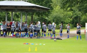 منتخب الشابات الكروي يعود من ألمانيا ويستأنف تدريباته