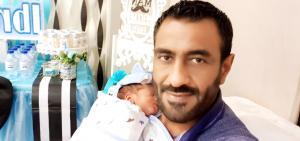 محمد النواجي  ..  مبارك المولود الجديد