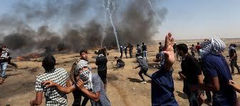 """غزة ..  أكثر من 200 مصاب فلسطيني في """"مسيرات العودة"""" الجمعة"""