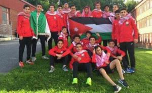 أكاديمية فرسان الأردن ترفع علم الوطن على منصة التتويج