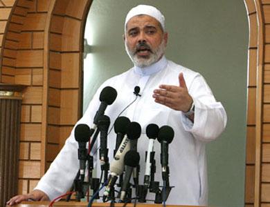 هنية: لا خلافات داخل حماس ولا وجود لمقاتلين من حماس في سوريا