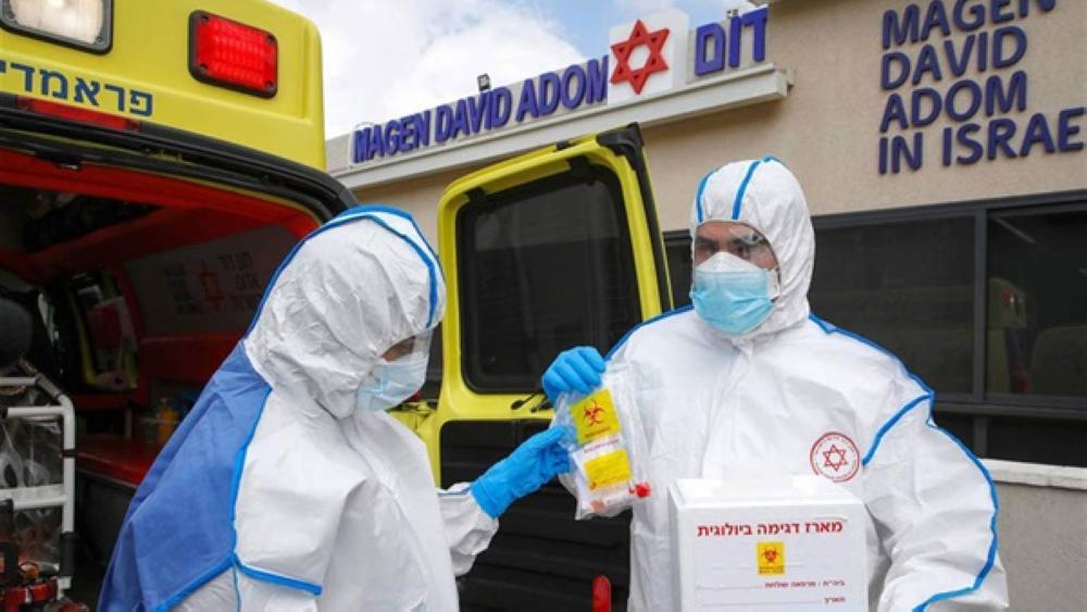 الاحتلال الصهيوني يسجل 4 وفيات و1201 إصابة بكورونا
