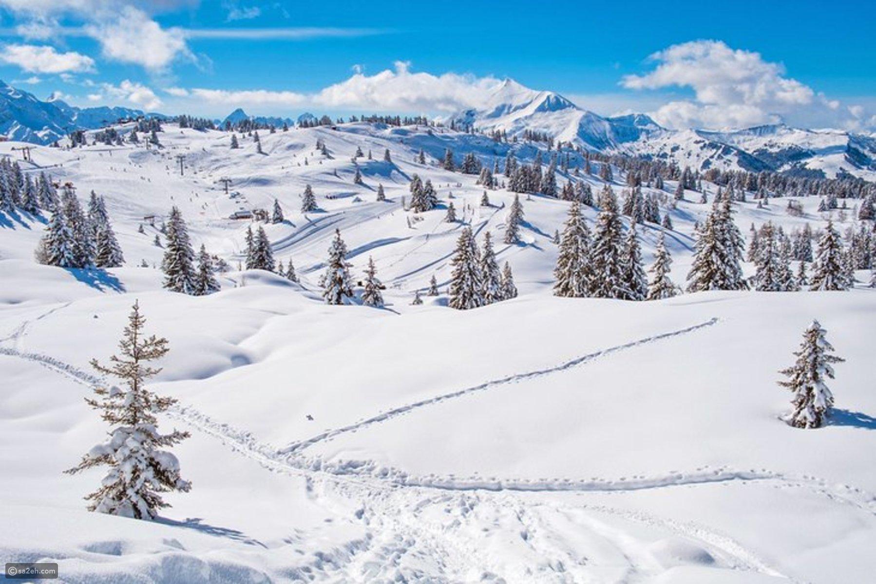 السياحة في شامونيه فرنسا: أفضل وجهة سياحية للتزلج  ..  صور