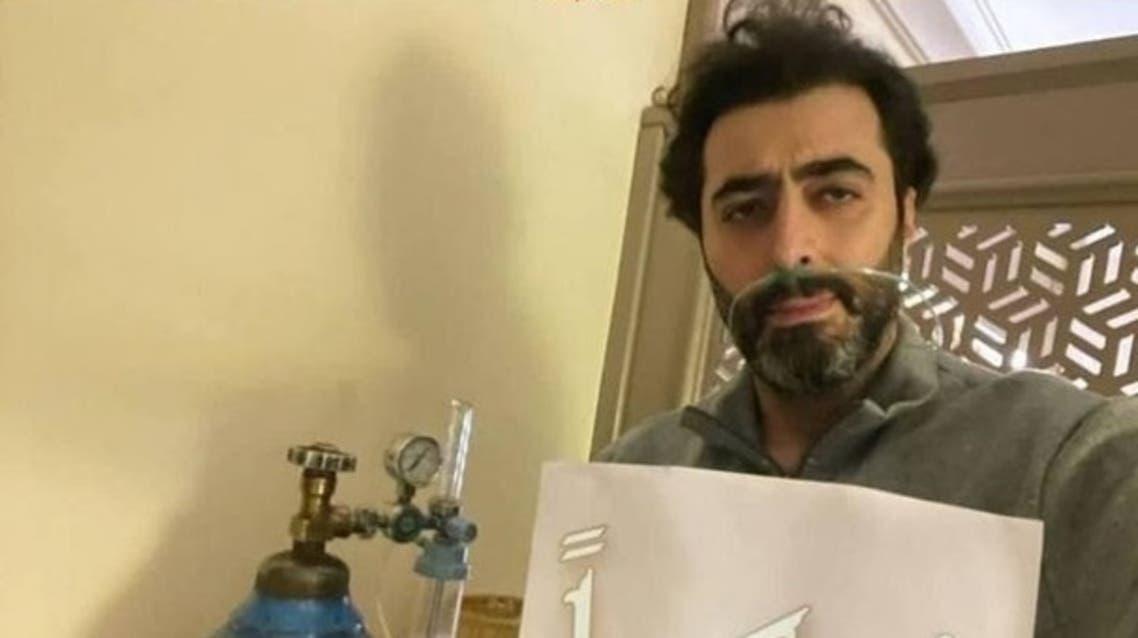 شاهدوا  ..  بعد صورته مع أنبوب الأكسجين  ..  باسم ياخور يكشف عن حالته الصحية