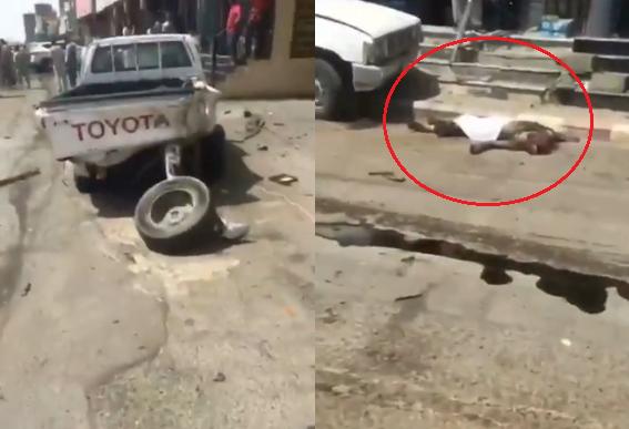 بالفيديو ..  مشهد مأساوي لحظة تعرض شخصين للدهس بمحافظة الطائف بالسعودية